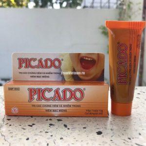 Picado гель от стоматитов и язв полости рта 10г