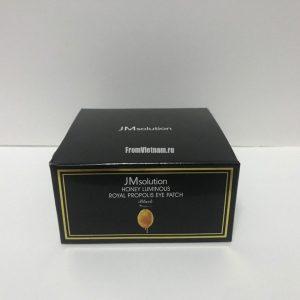 Honey Luminous Royal Propolis Eye Patch JMsolution патчи для глаз