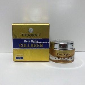 Kem Nghe Collagen Thorakao крем с коллагеном и куркумой 10г