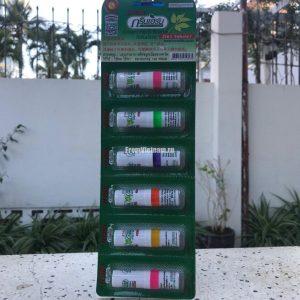 Green Herb Inhaler Ингалятор 2в1 для носа 6шт