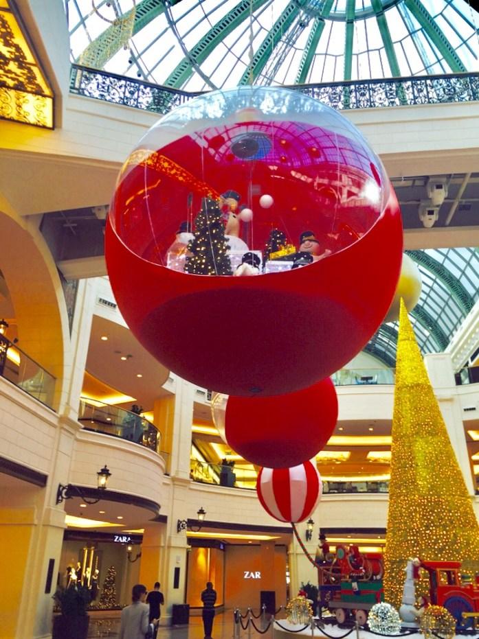 Christmas decor at MOE
