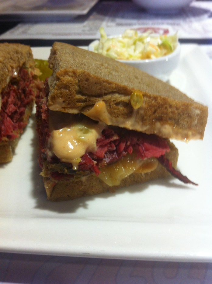 Poutine. Smoked Meat Sandwich