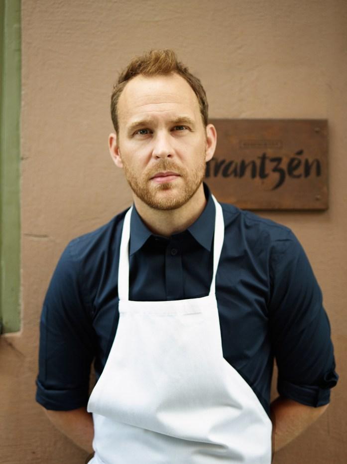 Chef Björn Frantzén. All rights reserved