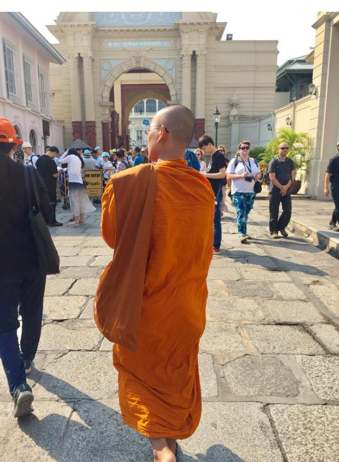 Bangkok monk