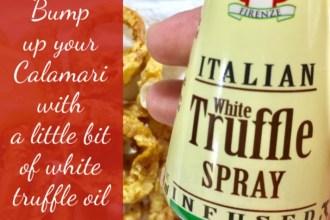 Italian Truffle Spray used on Calamari