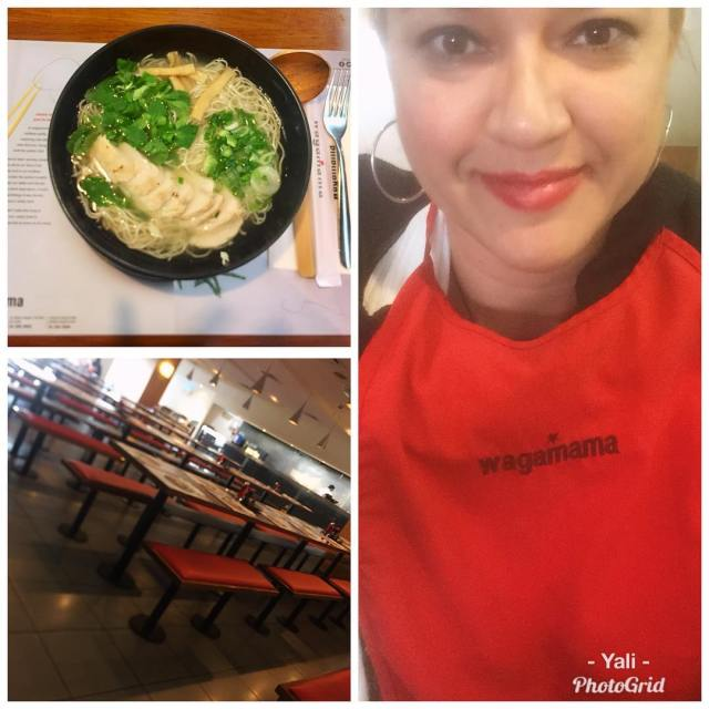 Got my slurp on today with some chickenramen at wagamamauaehellip