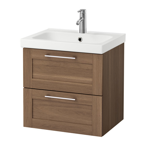 godmorgon-odensvik-sink-cabinet-with-drawers__Walnut