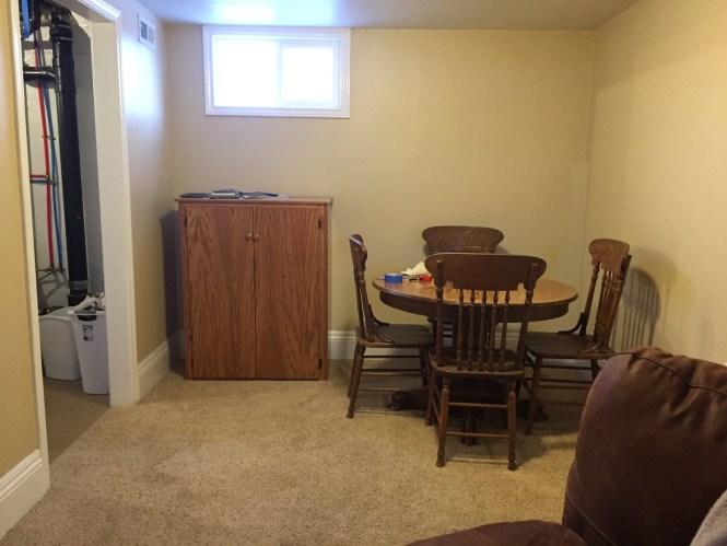 Living Room Before bathroom remodel