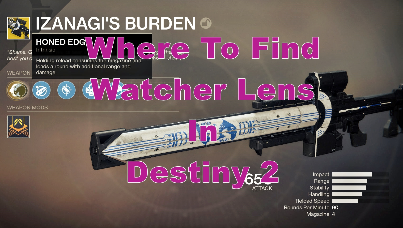 Where To Find Watcher Lens Easily In Destiny 2 Watcher