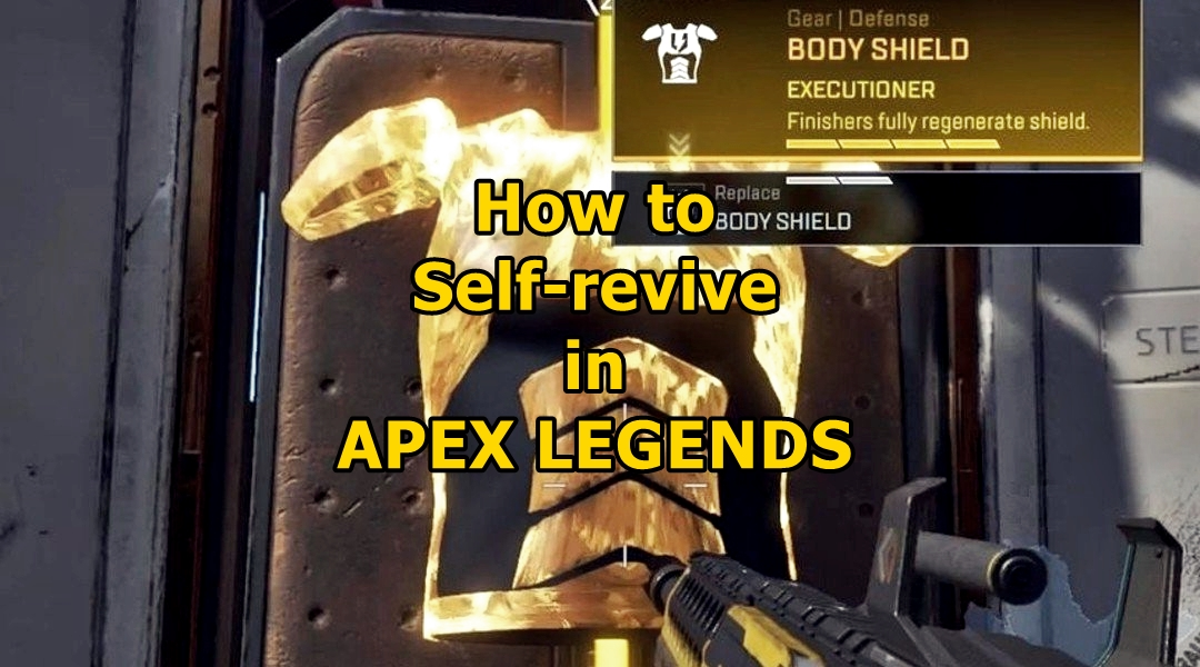 How To Self Revive In Apex Legends Frondtech