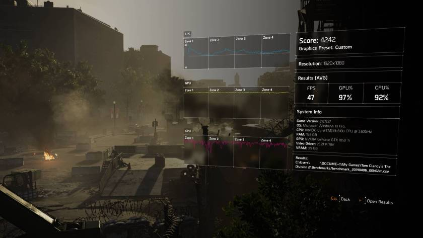 The Division 2 Performance Issues - Lag, Crashes And FPS