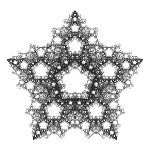 The Chaos Game: an experiment about fractals, recursivity and creative coding