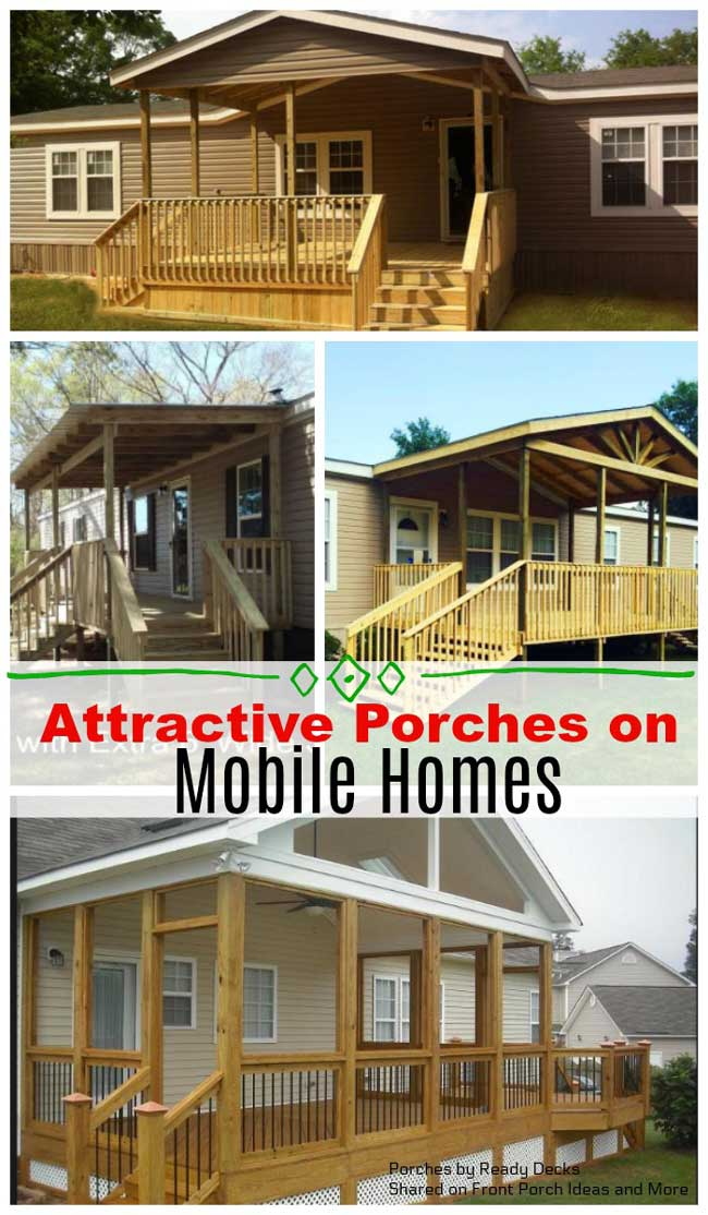 Mobile Home Roof Over Plans : mobile, plans, Porch, Designs, Mobile, Homes, Porches, Ideas