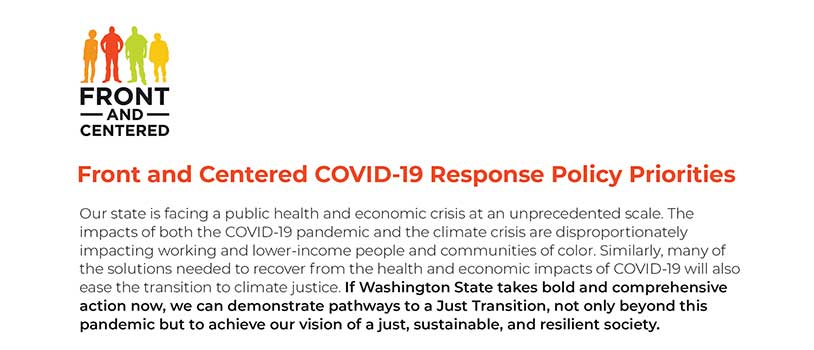 Bold Policies Necessary to Confront COVID-19 and Climate Crises