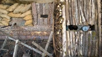 Diorama nido di mitragliatrice
