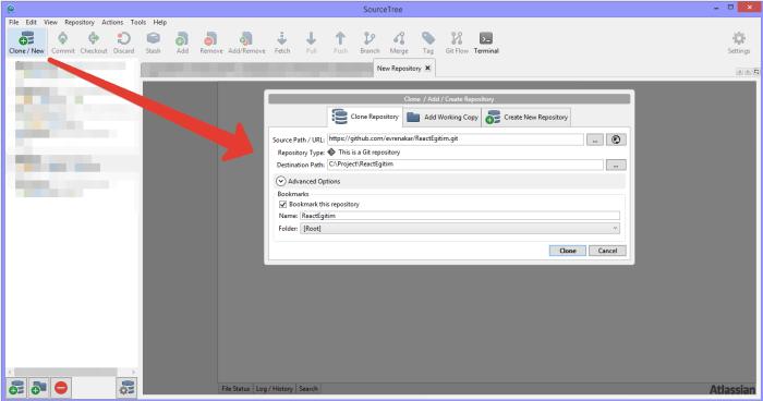 sourcetree-git-github-clone-repository