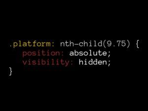 platform code pun