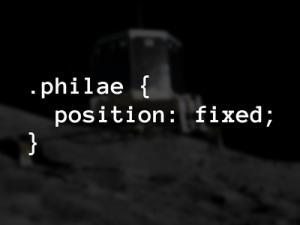 Philae code pun