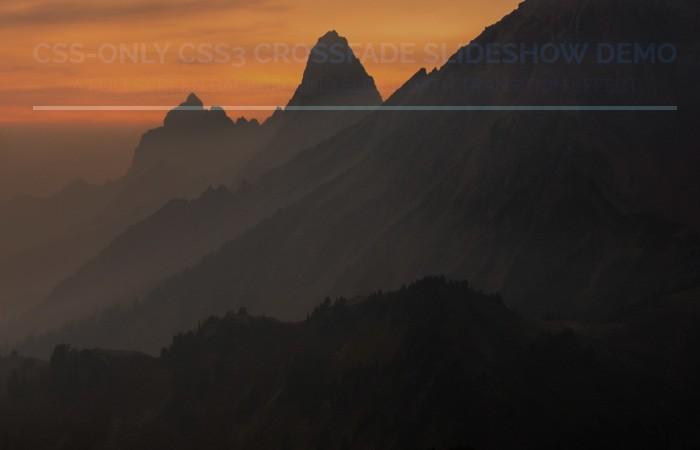 CSS Background Image Slideshow Crossfading