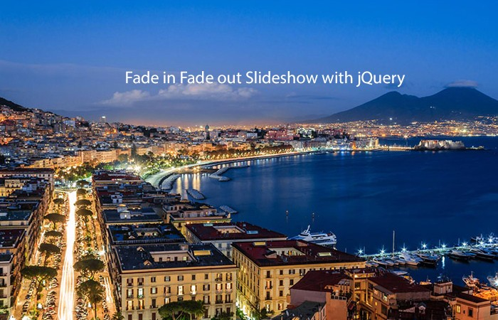 Fade in Fade out Slideshow with jQuery
