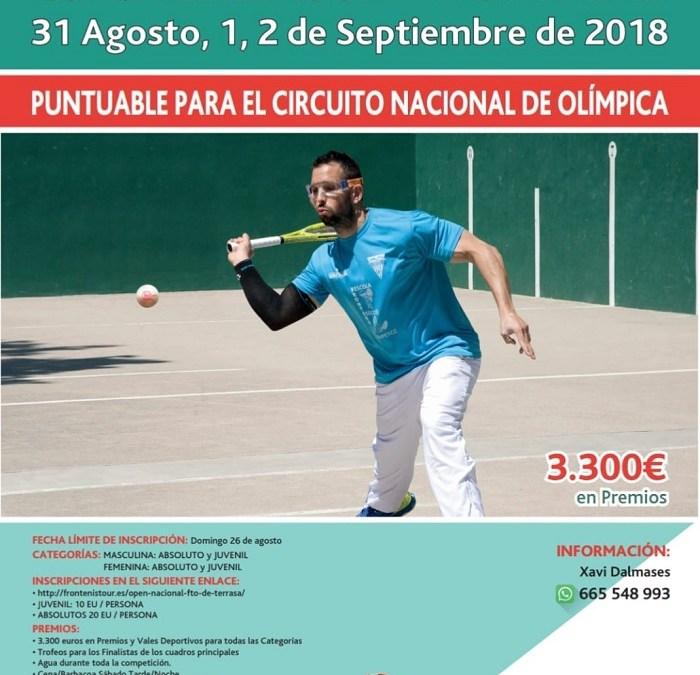 Open Nacional FTO de Terrasa