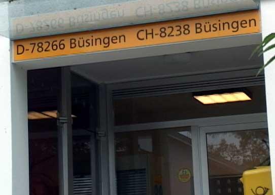 Oficina de correos de Büsingen