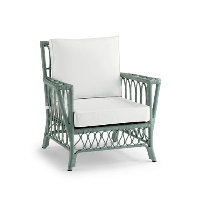 frontgate outdoor lounge chairs small desk with chair all weather myla cushions in sage finish special order