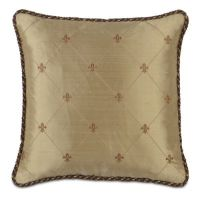 Fleur de Lis Decorative Pillow - Frontgate