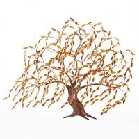 Copper Willow Tree Wall Art - Frontgate