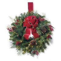Christmas Cheer Window Wreath