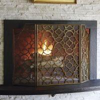 Mesh Fireplace Screen