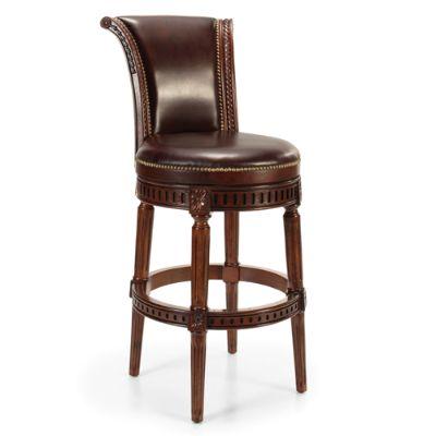 "Manchester Swivel Bar Height Bar Stool (30""h Seat"