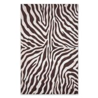 Zebra Print Outdoor Rug