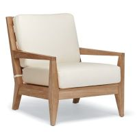 Peyton Lounge Chair with Cushions | Frontgate
