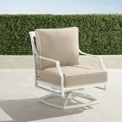 Frontgate Lounge Chair Cushions Lawn With Shade Palermo S/2 Center Chairs In White Finish |