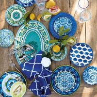 Vibrant Mix | and | Match Melamine Dinnerware | Frontgate