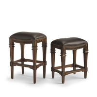 Linwood Backless Bar and Counter Stools | Frontgate