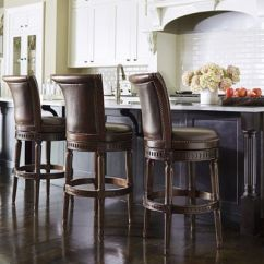 Height Of Bar Stools For Kitchen Counter Cabinet Makeover Manchester Swivel And | Frontgate