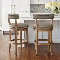 Henning Low Back Bar and Counter Stools | Frontgate