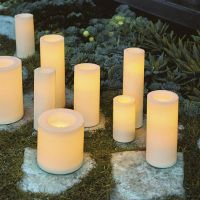 Battery-operated Flameless Outdoor Candles | Frontgate