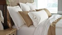 Resort Embroidered Stripe Bedding Collection