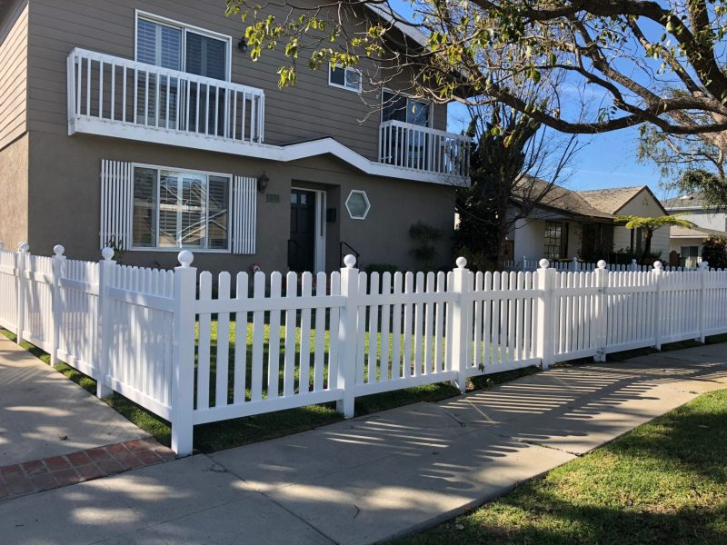 vinyl fence los angeles
