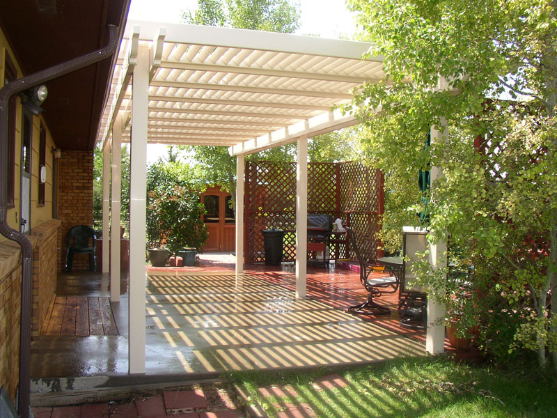 vinyl patio covers in la pergola