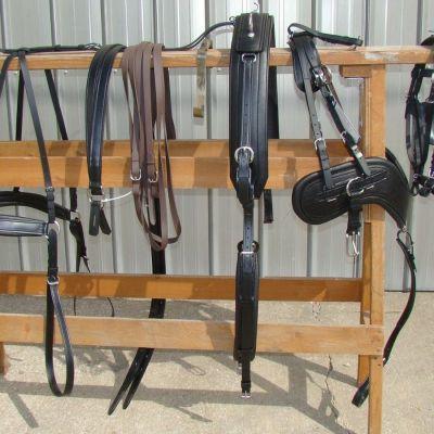 comfy fit draft horse harness