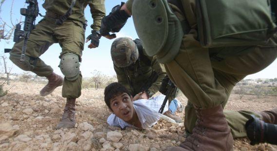 Palestine enfant-torture