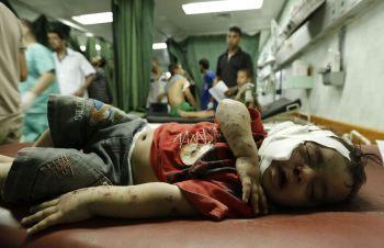 Palestine massacre d'enfants
