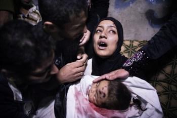 Palestine mère et enfant