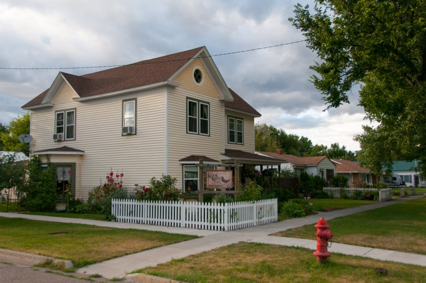 The Lark and Laural B&B in Fort Benton, Montana