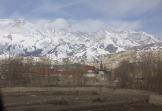Arrival in Lo Manthang