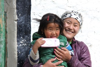 Lo Manthang Mother & Daughter
